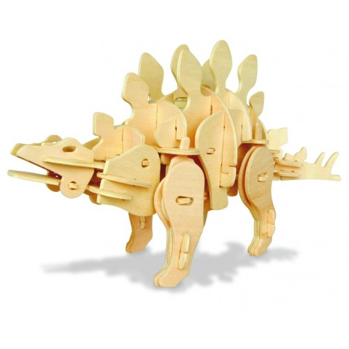 Koottava puinen Stegosaurus Laughing Milla Palapelit