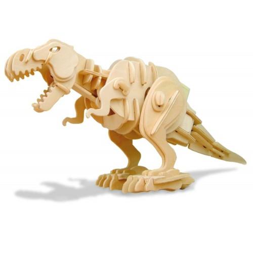 Koottava puinen pureva T-rex Laughing Milla Palapelit