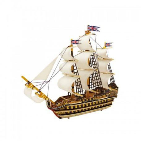 Koottava puinen laiva Victory Laughing Milla Palapelit